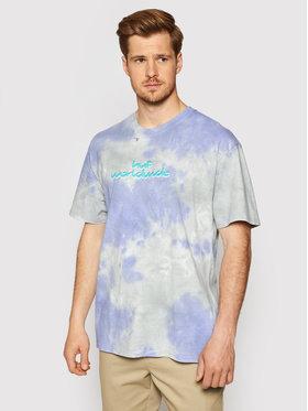 HUF HUF T-Shirt Chemistry TS01379 Fioletowy Regular Fit
