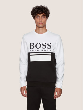Boss Boss Sweatshirt Salbo 1 50434921 Weiß Slim Fit