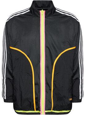 adidas adidas Преходно яке Reverse Track GN3816 Черен Regular Fit