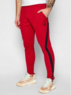 Nike Nike Spodnie dresowe Jordan Dri-Fit Air CU9609 Czerwony Standard Fit