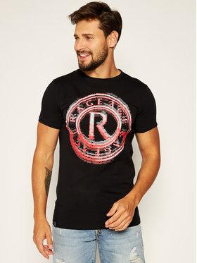 Rage Age Rage Age T-Shirt Pixel Černá Slim Fit