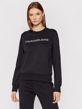 Calvin Klein Jeans Calvin Klein Jeans Majica dugih rukava J20J209761 Crna Regular Fit