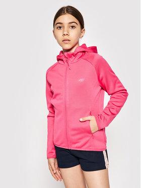 4F 4F Polár kabát HJL21-JPLD001A Rózsaszín Regular Fit