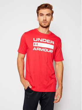 Under Armour Under Armour Póló Ua Team Issue Wordmark 1329582 Piros Loose Fit