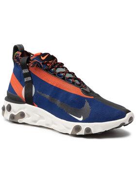 Nike Nike Topánky React Runner Mid Wr Ispa AT3143 400 Tmavomodrá