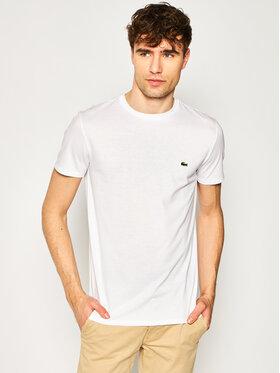 Lacoste Lacoste T-Shirt TH6709 Bílá Regular Fit
