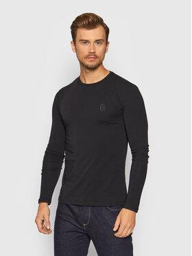 Trussardi Trussardi Тениска с дълъг ръкав 52T00538 Черен Slim Fit