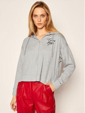 TOMMY HILFIGER TOMMY HILFIGER Sweatshirt UW0UW03021 Grau Regular Fit