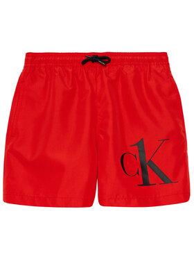 Calvin Klein Swimwear Calvin Klein Swimwear Плувни шорти Ck One B70B700306 Червен Regular Fit