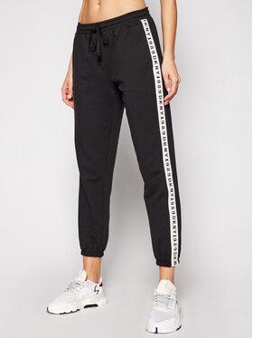 DKNY DKNY Teplákové kalhoty YI2722472 Černá Regular Fit