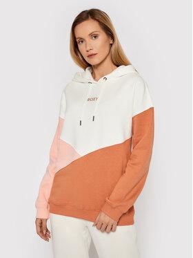 Roxy Roxy Sweatshirt Hitch A Ride ERJFT04472 Weiß Regular Fit