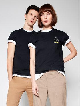 HUF HUF T-Shirt PULP FICTION Mia TS01315 Μαύρο Regular Fit