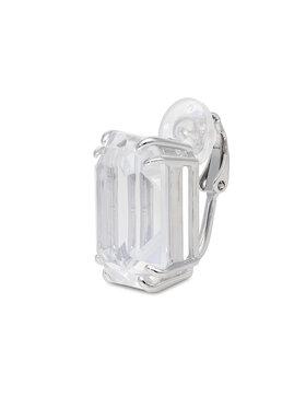 Swarovski Swarovski Ohrring Mec Rect Cry 5600860 Silberfarben