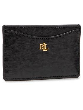 Lauren Ralph Lauren Lauren Ralph Lauren Puzdro na kreditné karty Slim Card Cs 432787761001 Čierna