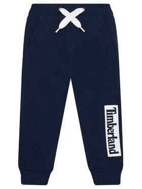 Timberland Timberland Spodnie dresowe T24B51 M Granatowy Regular Fit