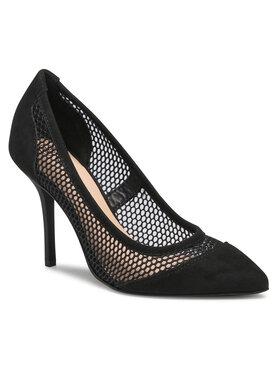 Solo Femme Solo Femme Pantofi cu toc subțire 34315-43-020/L05-04-00 Negru