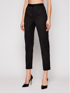 MAX&Co. MAX&Co. Текстилни панталони Primato 87819921 Черен Regular Fit