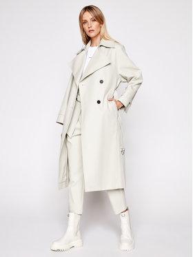 IRO IRO Prechodný kabát Benoit A0035 Sivá Regular Fit