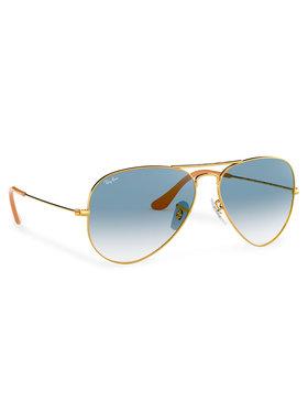 Ray-Ban Ray-Ban Slnečné okuliare Aviator Large Metal 0RB3025 001/3F Zlatá