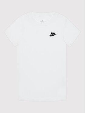 Nike Nike Marškinėliai Futura AR5254 Balta Standard Fit