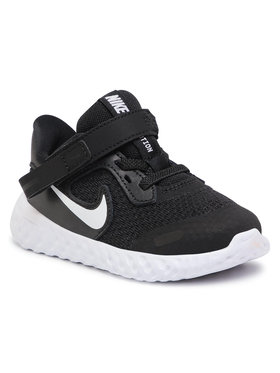 NIKE NIKE Cipő Revolution 5 Flyease (TDV) CQ4651 004 Fekete