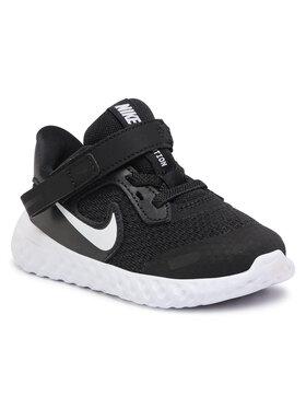NIKE NIKE Παπούτσια Revolution 5 Flyease (TDV) CQ4651 004 Μαύρο