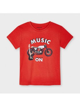 Mayoral Mayoral T-shirt 3049 Rosso Regular Fit