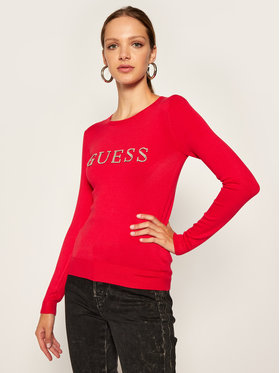 Guess Guess Sweater Zoe W0BR0Q Z2NQ0 Piros Regular Fit