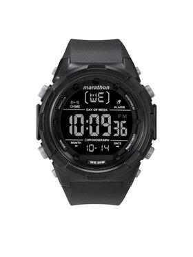 Timex Timex Часовник Marathon TW5M22300 Черен