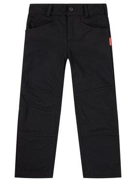 Reima Reima Kalhoty z materiálu 532189 Černá Regular Fit