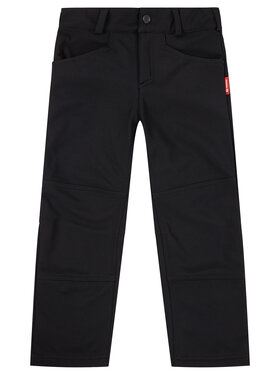Reima Reima Spodnie materiałowe 532189 Czarny Regular Fit