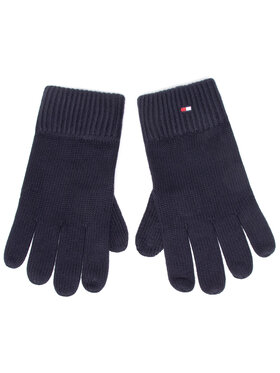 Tommy Hilfiger Tommy Hilfiger Gants homme Pima Cotton Gloves AM0AM06591 Bleu marine