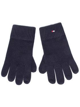 Tommy Hilfiger Tommy Hilfiger Mănuși pentru Bărbați Pima Cotton Gloves AM0AM06591 Bleumarin