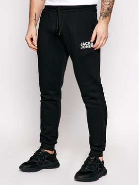 Jack&Jones Jack&Jones Jogginghose Gordon Newsoft 12178421 Schwarz Regular Fit