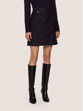 Boss Boss Džínová sukně Denim 2.0 50441503 Tmavomodrá Regular Fit