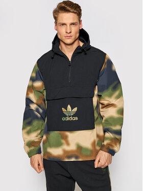adidas adidas Ветровка Camo GN1875 Цветен Regular Fit