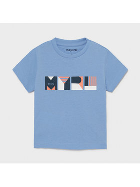 Mayoral Mayoral T-shirt 106 Blu Regular Fit