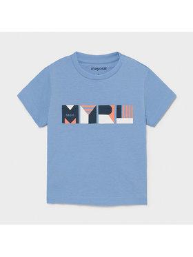 Mayoral Mayoral T-Shirt 106 Niebieski Regular Fit