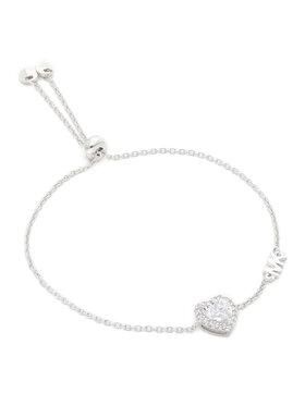 Michael Kors Michael Kors Náramek Bril Heart Sldr MKC1518AN040 Stříbrná