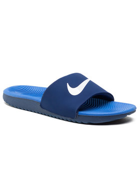 Nike Nike Nazouváky Kawa Slide (GS/PS) 819352 404 Tmavomodrá