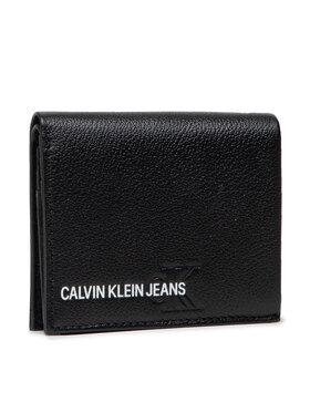 Calvin Klein Jeans Calvin Klein Jeans Kisméretű férfi pénztárca Small N/S Trifold K50K506959 Fekete