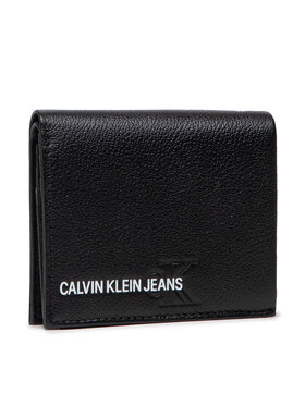 Calvin Klein Jeans Calvin Klein Jeans Maža Vyriška Piniginė Small N/S Trifold K50K506959 Juoda