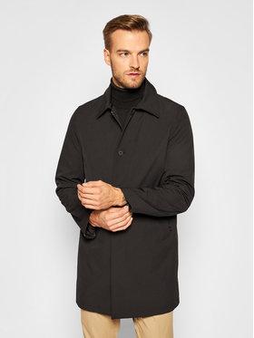 Oscar Jacobson Oscar Jacobson Prechodný kabát Johnsson 7117 6567 Čierna Regular Fit