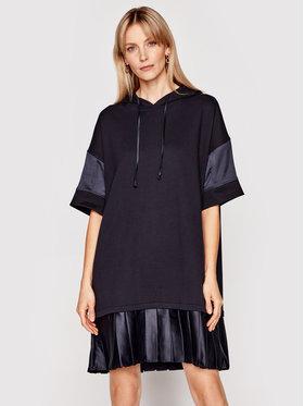 TwinSet TwinSet Úpletové šaty 211LL2GFF Čierna Regular Fit