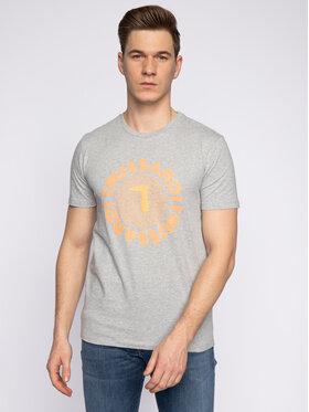 Trussardi Trussardi T-shirt 52T00327 Siva Regular Fit