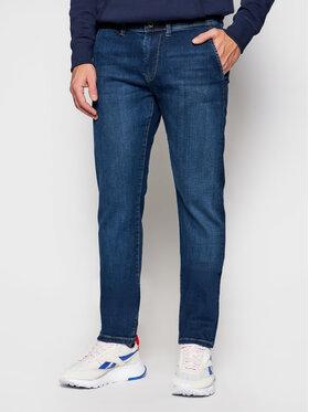 Pepe Jeans Pepe Jeans Džinsai Jamey PM205896 Tamsiai mėlyna Taper Fit