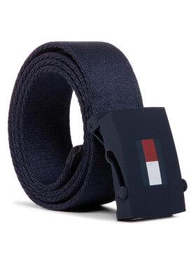 Tommy Hilfiger Tommy Hilfiger Vaikiškas diržas Kids Plaque Belt AU0AU00991 Tamsiai mėlyna