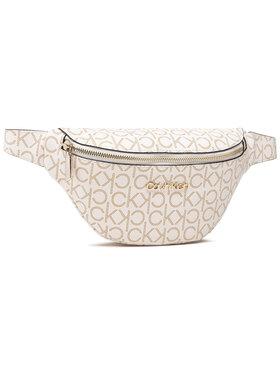Calvin Klein Calvin Klein Marsupio Waistbag Monogram K60K608139 Bianco