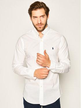 Polo Ralph Lauren Polo Ralph Lauren Риза Classics 710705269 Бял Slim Fit
