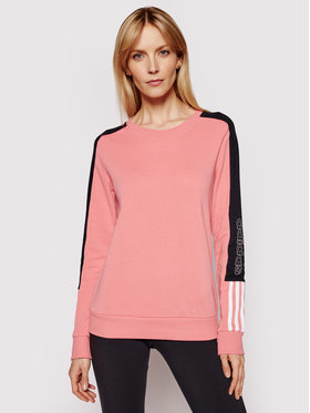 adidas adidas Pulóver Essential GL1435 Rózsaszín Slim Fit